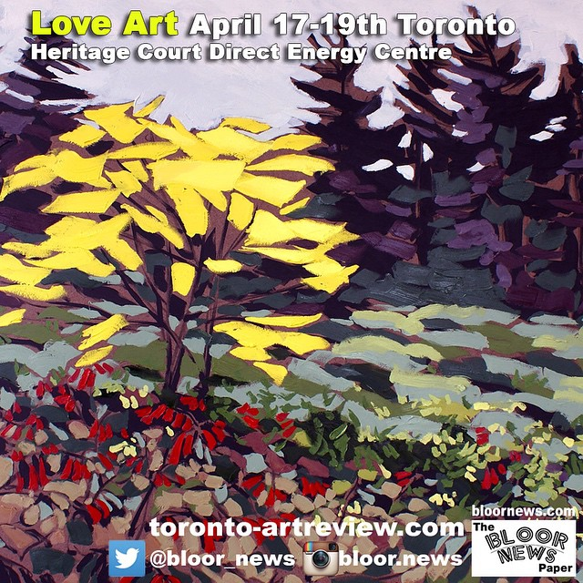 Love Art April 17-19th TorontoHeritage Court Direct Energy Centre@natashankprnatashankpr#lovearttoronto