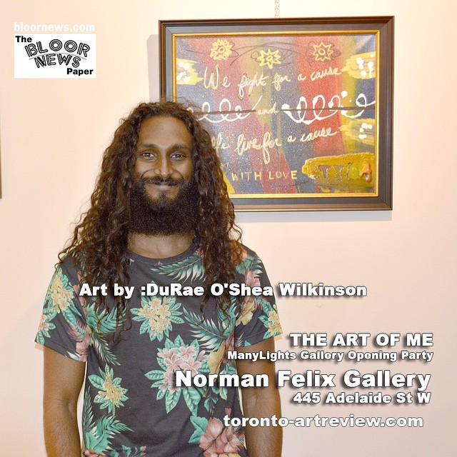 Art by :DuRae O'Shea WilkinsonTHE ART OF MEManyLights Gallery Opening PartyNorman Felix Gallery445 Adelaide St W@normanfelixart@normanfelixgallery#art#artlife#lifestyle#artspa#gallery#toronto#venue#events#entertainment#cafe 232E5EA3-B4E0-4B68-86F8-0D0CEC75FF85