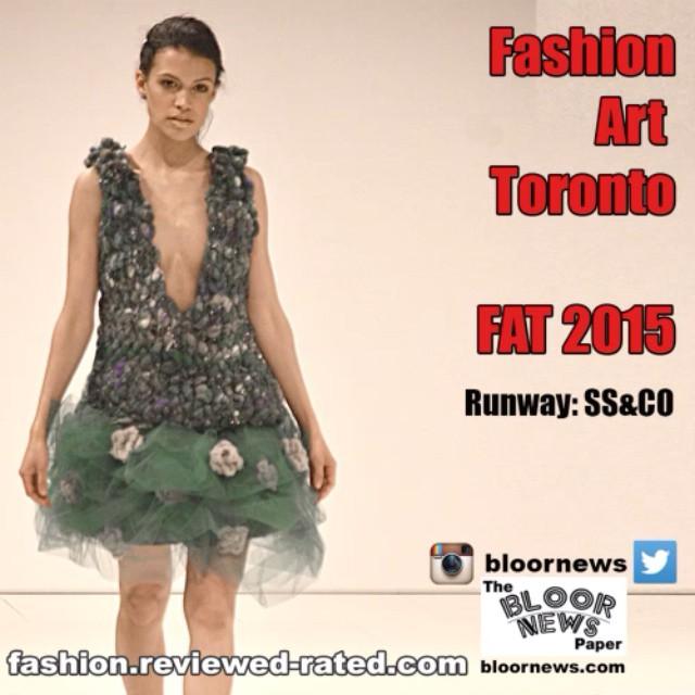 @FashionArtTOFashionarttoronto#FAT2015#MADEinCANADA#Fashionarttoronto  By ss&co.