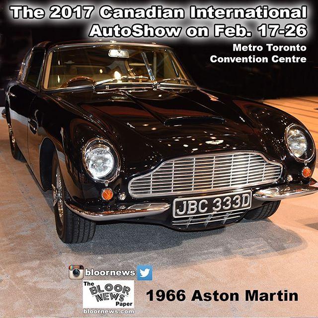 2017 Canadian Auto Show Metro Toronto Convention#CIAS#CIAS2017#AutoShowOhCanada#autoshow 1966 Aston Martinhttp://dbsduplication.com