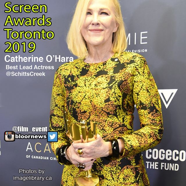 Catherine O'HaraBest Lead Actress#SchittsCreek#CdnScreenAwards#CdnScreen19#filmindustry#movie#movies#Toronto#cinema#celebritynews#ctv#etalk@NATIONALPR@TouchwoodPR@TheCdnAcademy@IMDb@SchittsCreek@CBCComedy#canadianscreenawards#thecdnacademy#CanadianScreen#screenawards#celebrity#instagood#instapic