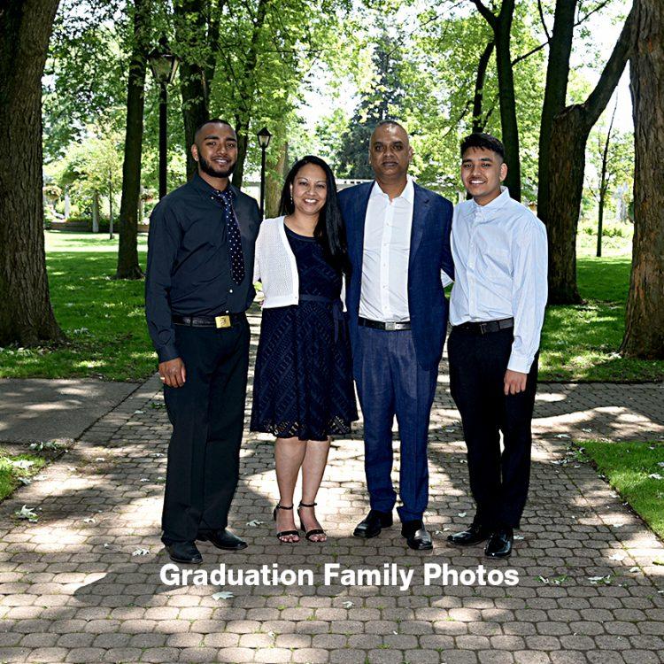 Graduation Family Photos